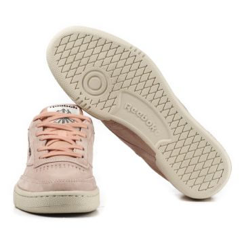 Details zu Reebok Club C 85 Pastels V67594 Sneakers Rosa Leder Desert Stone Pink Freizeit