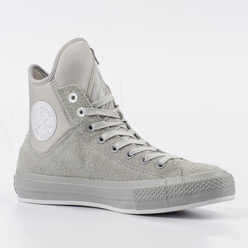 Details zu Converse Schuhe Chucks CT All Star MA 1 SE Hi 153638C Ash Grey Grau Weiß
