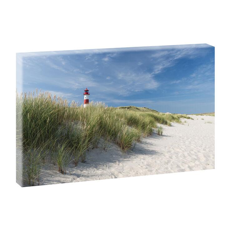 Strand Meer Wohnzimmer  Bild Foto Leinwand Poster Wandbild XXL 100 cm*65 cm 748
