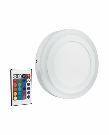 Osram Led Deckenleuchte 19w Rgbw Color White Round Rund