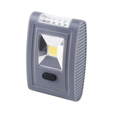 12 x LED Taschenlampe Arbeitslicht Campinglicht für 3x AAA Batterie Haken Magnet