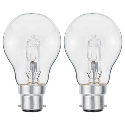 10 x Eco Halogen Leuchtmittel Birnenform 70W fast 100W E27 A55 warmweiß dimmbar