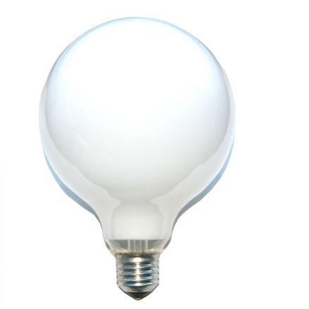 1 x globe gl hbirne 100w e27 opal g120 120mm globelampe. Black Bedroom Furniture Sets. Home Design Ideas