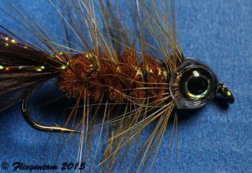 Fish Head Mask Fliegentom 3387 Streamerköpfe 10 Stück