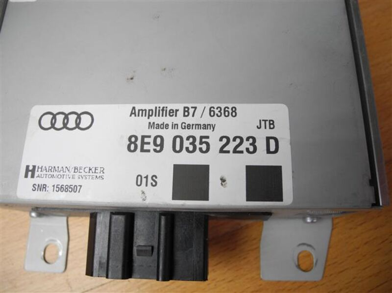 2006 Audi A4 B7 BOSE Audio Sound System Amplifier Control Module ECU 8E5035223C