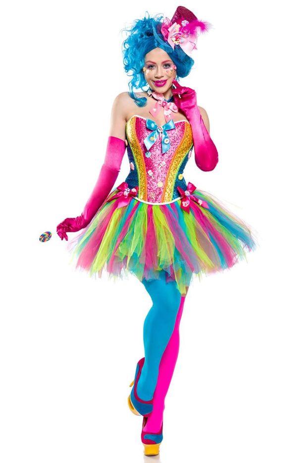Fasching Damenkostüm Elfe Kostüm Karneval Frau Gr S M 36//38 40//42