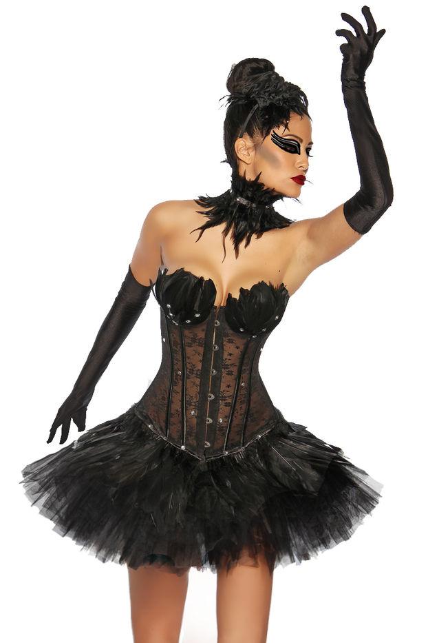 Weiße Schwan Premium Halloween Kostüm Ballett Tutu Rock Alle Größen Von KATZ
