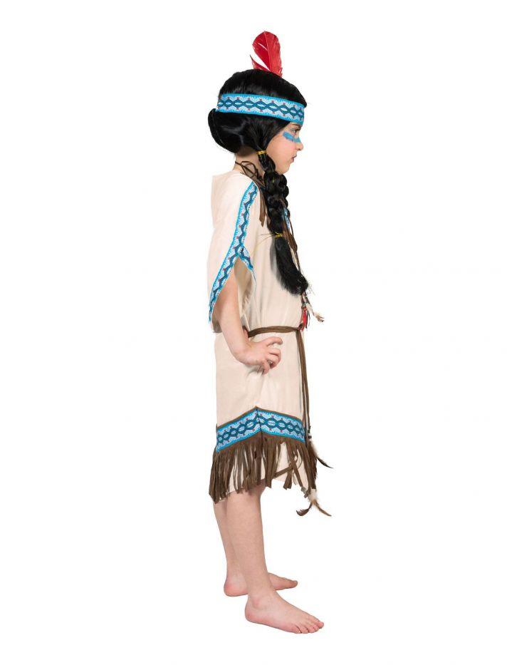 Indianerinkostum Kostum Indianerin Indianer Kinder Motto Kleid