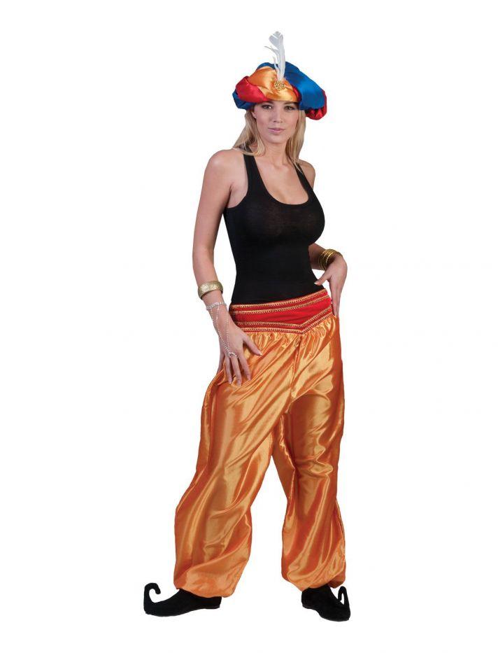 Orient Hose Jasmin Araber 1001 Nacht Naher Osten Aladin Damen Motto