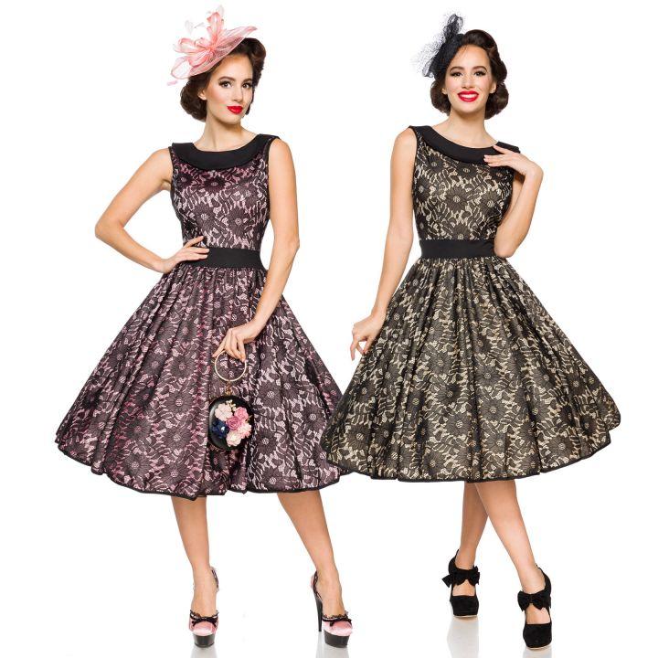 Vintage Spitzenkleid Kleid Retro Spitze Rockabilly 50er Jahre ...