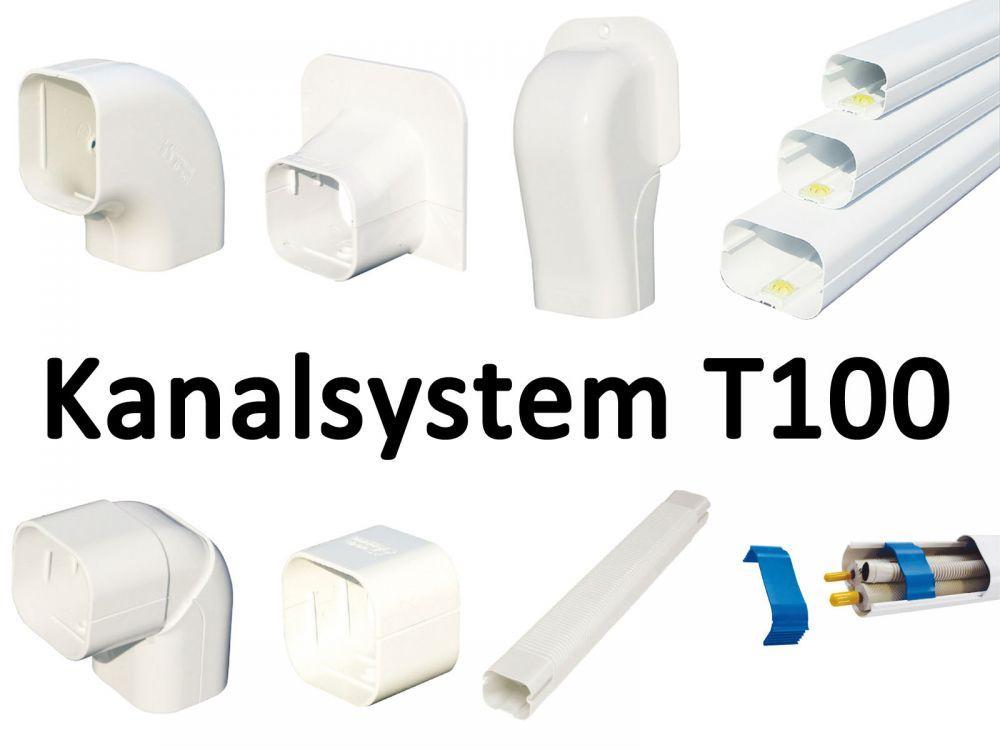 Wandrosette RM 100 EXC f/ür Kanal Klimaanlage