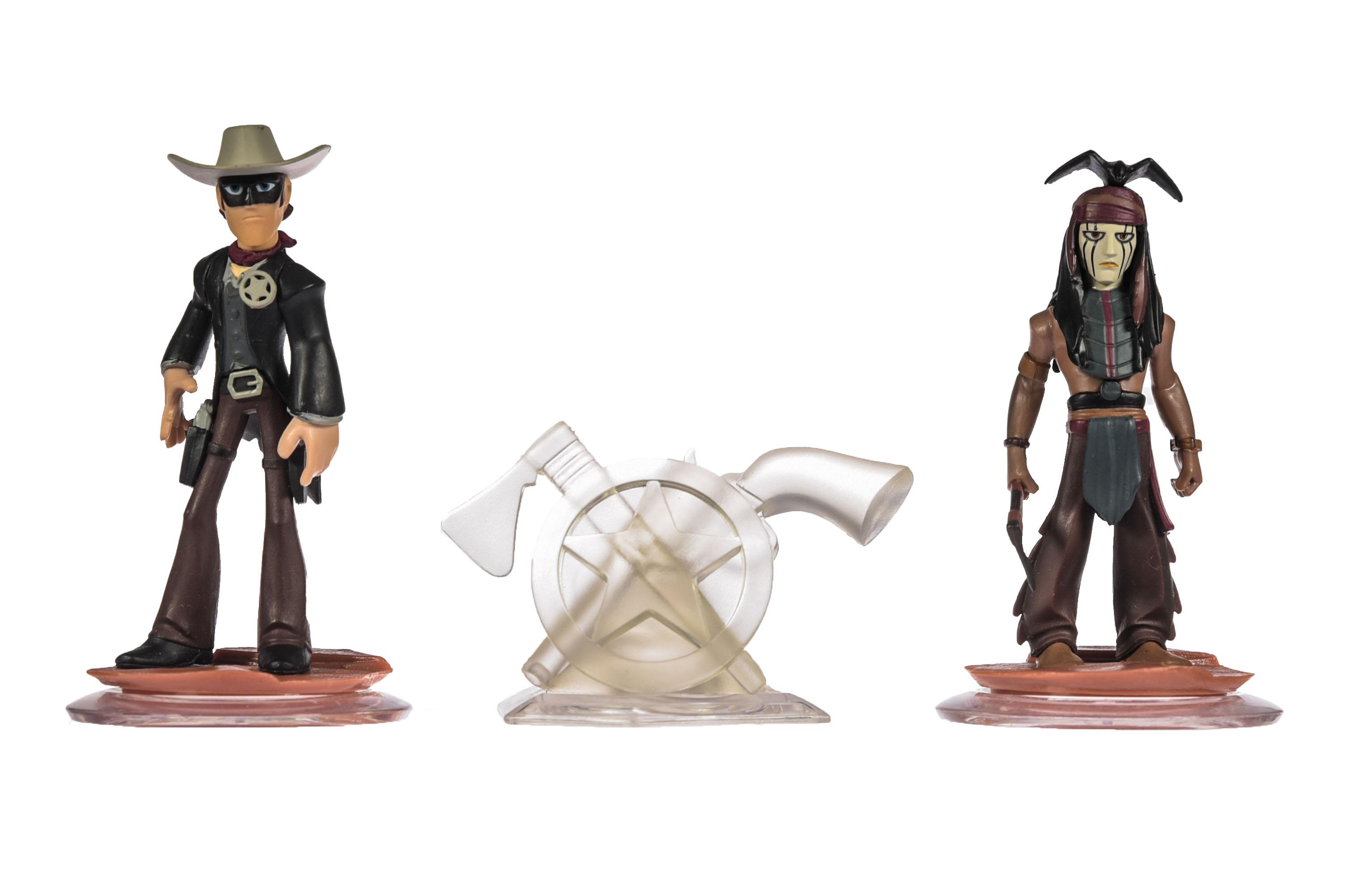 miniatuur 118 - Disney Infinity Einzelne Figuren, Playsets und Toyboxen Kombiversand