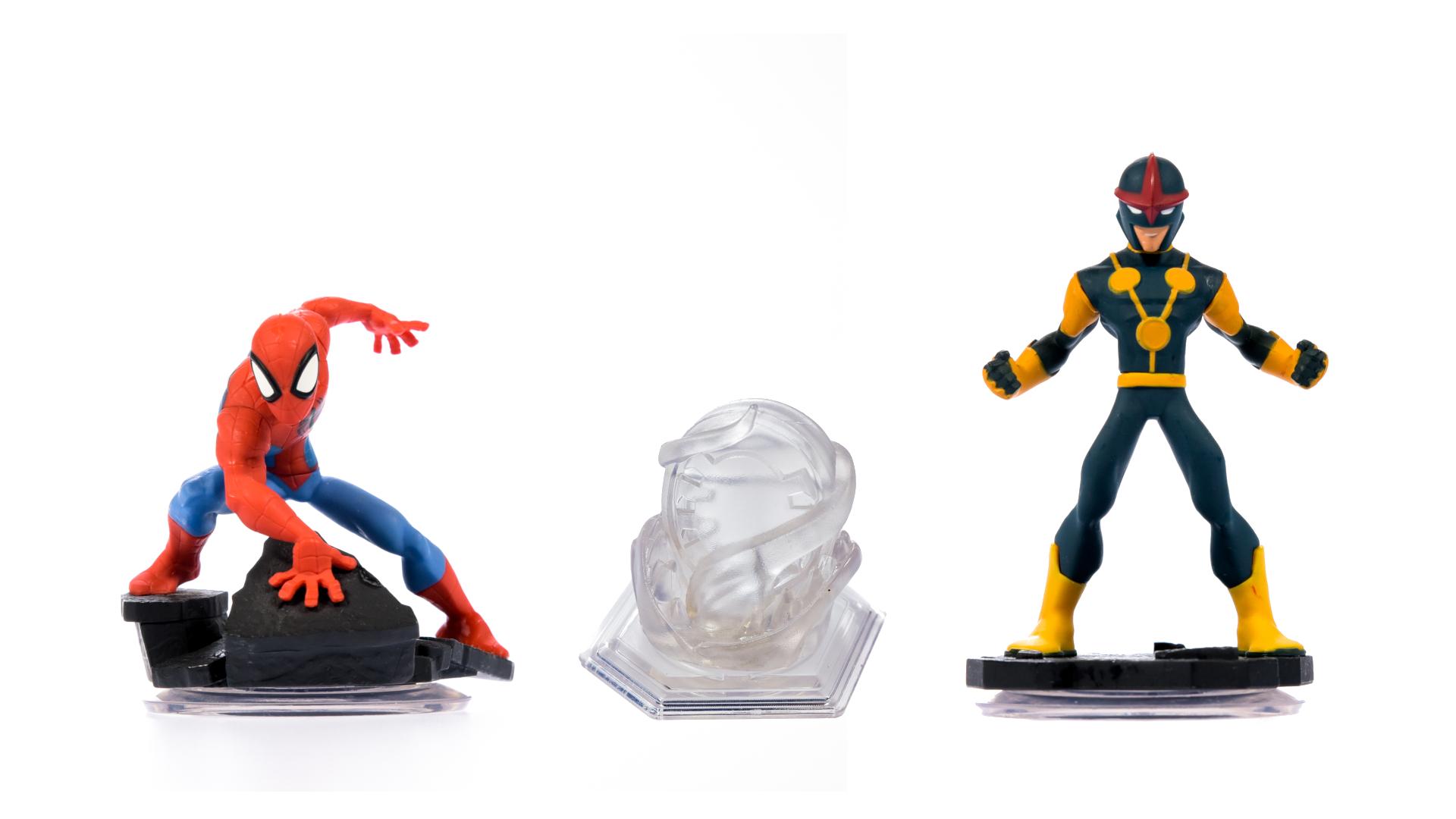 miniatuur 122 - Disney Infinity Einzelne Figuren, Playsets und Toyboxen Kombiversand