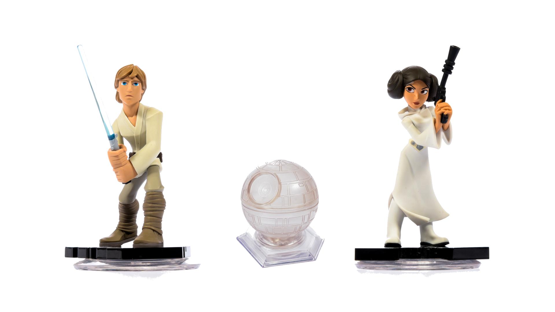 miniatuur 127 - Disney Infinity Einzelne Figuren, Playsets und Toyboxen Kombiversand