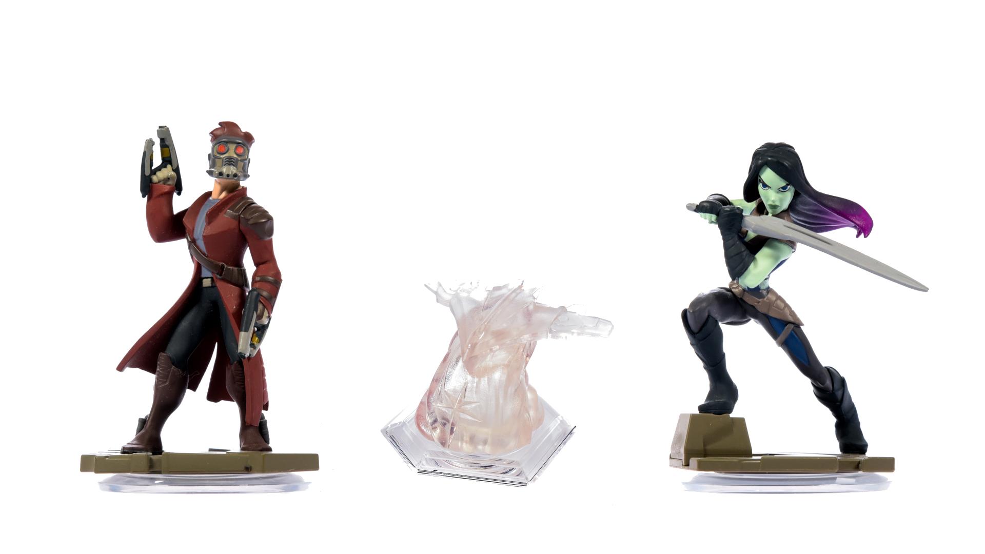 miniatuur 121 - Disney Infinity Einzelne Figuren, Playsets und Toyboxen Kombiversand