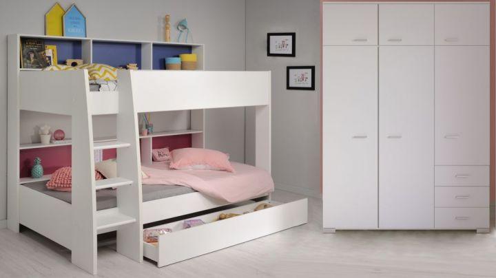 Leiter Etagenbett Wohnwagen : Etagenbett mit ablagefächer und leiter dazu ein kleiderschrank