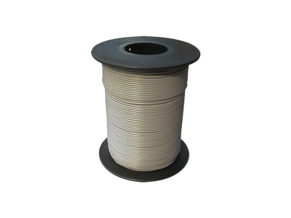 10m Kabel Litze 0,04mm² gelb Decoderlitze flexibel LIVY 1-adrig 10 Meter Ring