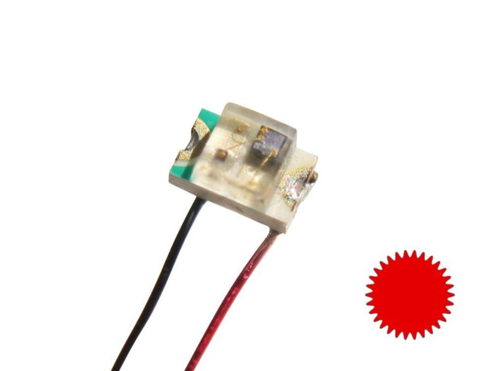 S513-10 pièces smd LED 0402 blanc avec fil cuivre lackdraht CHIP Micro LED Mini