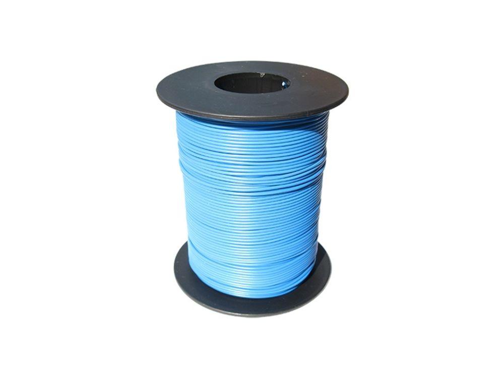 100m LIY Kabel Litze 0,14mm² Gelb flexibel Kupferlitze Schaltlitze 100 Meter