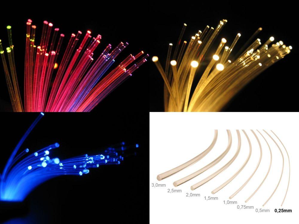 Lichtleitfaser//Licht wo Sie wollen//flexible-0,75€ pro m