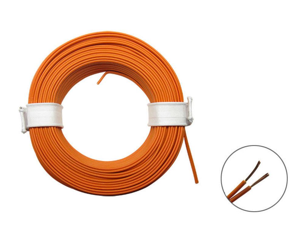 50 mètres toron 0,04mm² bleu décodeur toron produit souple mince câble sur bobine