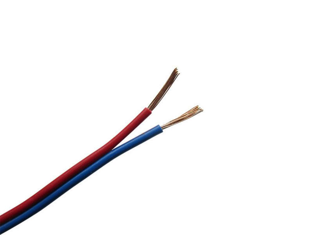 10m Kabel Litze Zwillingslitze 2x0,08mm² Rot//Blau Schaltlitze 10 Meter Ring