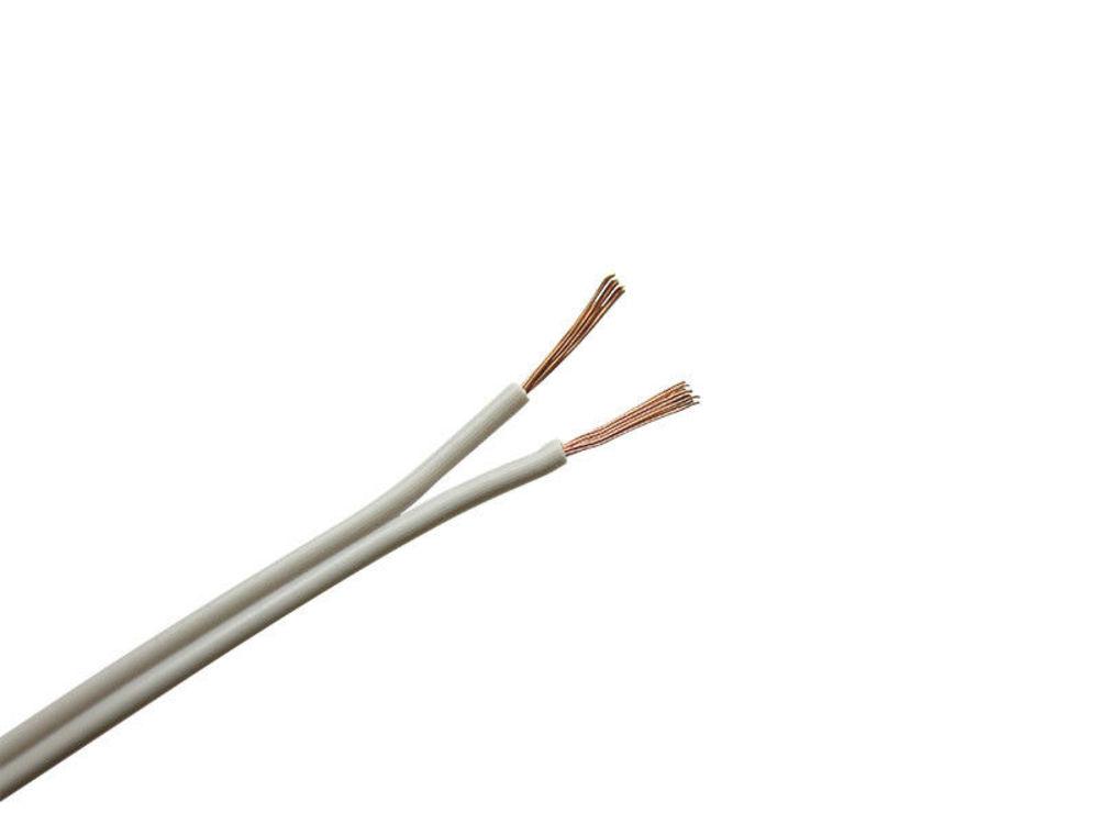 10m Kabel Litze Zwillingslitze 2x0,08mm² Grün Schaltlitze 2-adrig 10 Meter Ring