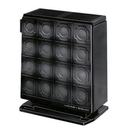 5 kw 6 kw dauerbrandofen haas sohn alkor schwarz kachelofen aus emaille ebay. Black Bedroom Furniture Sets. Home Design Ideas