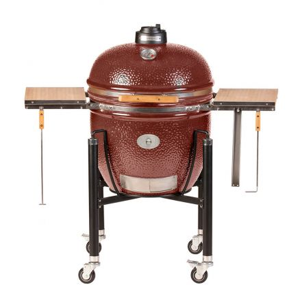monolith keramikgrill le chef mit gestell rot barbecue. Black Bedroom Furniture Sets. Home Design Ideas