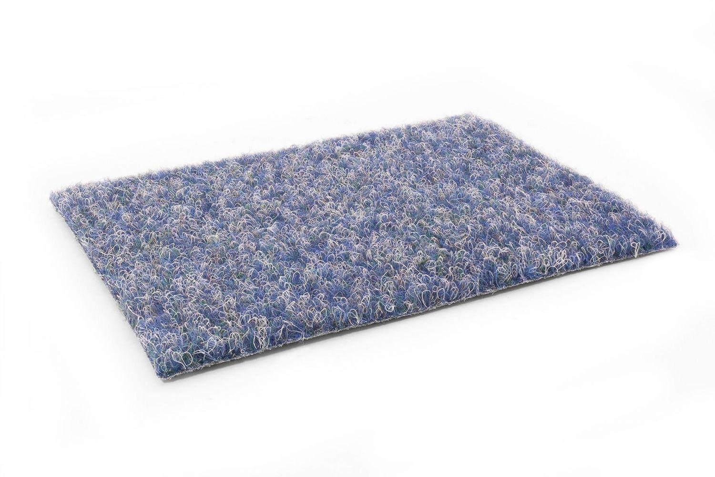 kunstrasen green blau rasenteppich mit noppen vlies 6 00 m teppichboden ebay. Black Bedroom Furniture Sets. Home Design Ideas