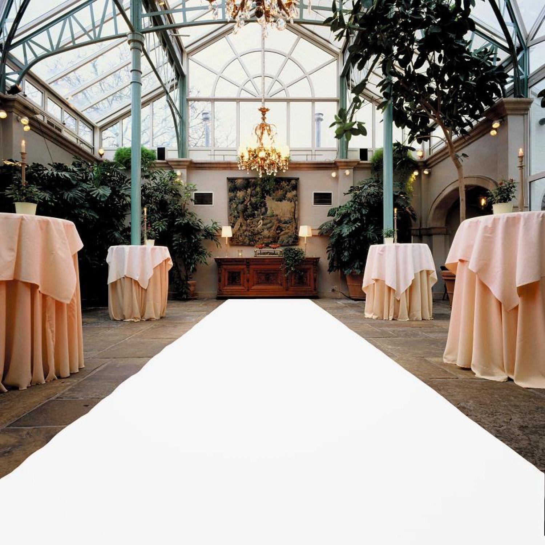 Wedding Aisle Runner White Carpet VIP Carpet Church Runner