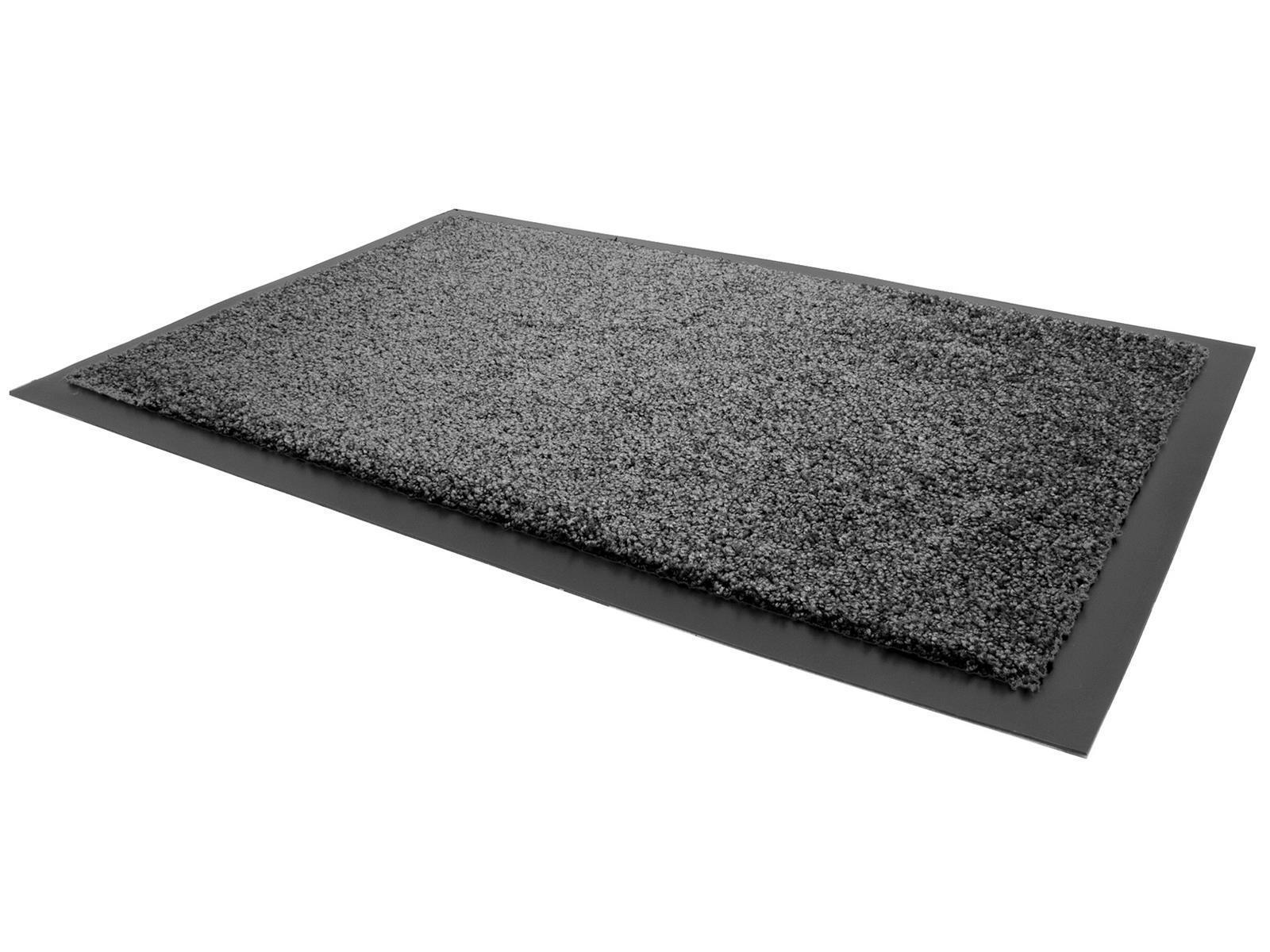 miniature 24 - Schmutzfangmatte Türmatte Fußmatte innen Sauberlaufmatte Fußabtreter Waschbar