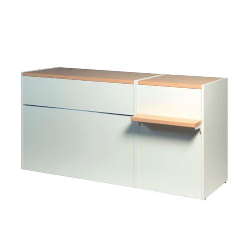 Ma100 Set06 Verkaufstisch Set Matrix L180 T60 H90 Ladentische