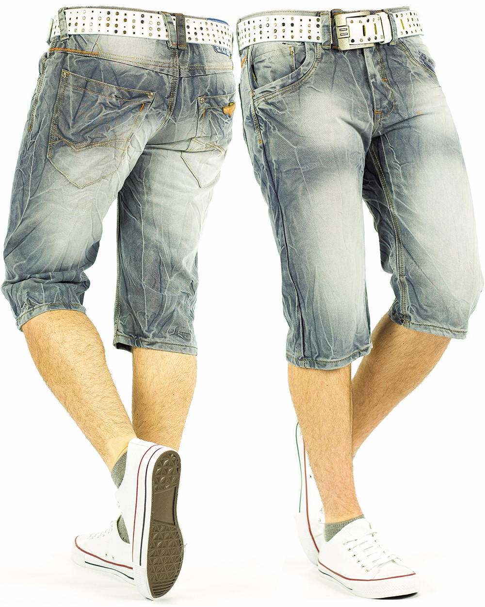 herren jeans shorts capri kurze hose mens pants denim jogging jogg dope swag wow ebay. Black Bedroom Furniture Sets. Home Design Ideas