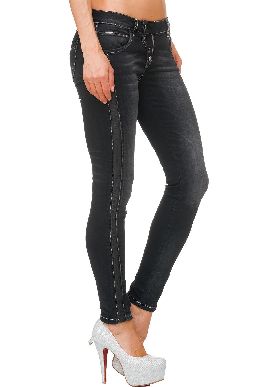 Verschiedene-Cipo-amp-Baxx-Damen-Jeans-Hosen-Slim-Fit-Regular-Fit-Streetwear Indexbild 75