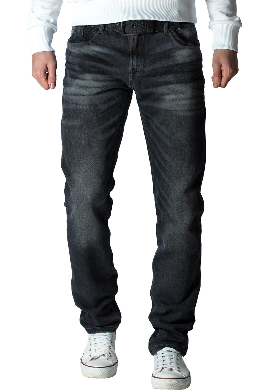 Cipo-amp-Baxx-Uomo-Jeans-Pantaloni-ricamate-Biker-Style-streetwear-nervature-pattern-Dope miniatura 24