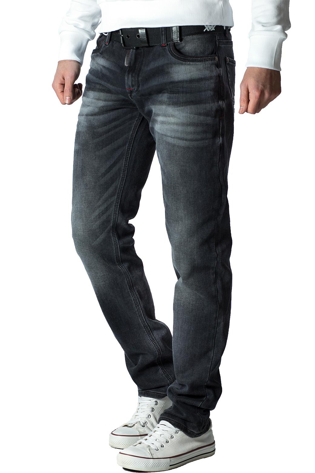 Cipo-amp-Baxx-Uomo-Jeans-Pantaloni-ricamate-Biker-Style-streetwear-nervature-pattern-Dope miniatura 27