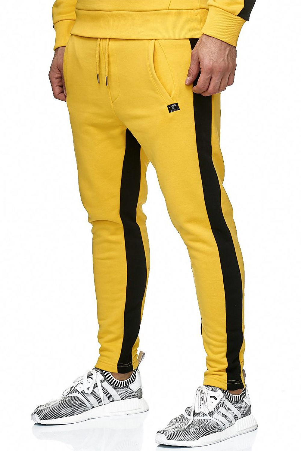 Redbridge-senores-regular-fit-chandal-fitness-sueter-aerobic-pantalones miniatura 18