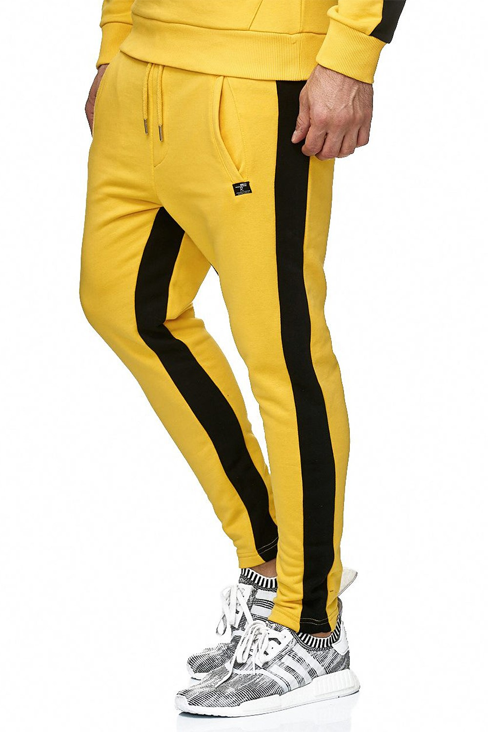 Redbridge-senores-regular-fit-chandal-fitness-sueter-aerobic-pantalones miniatura 17