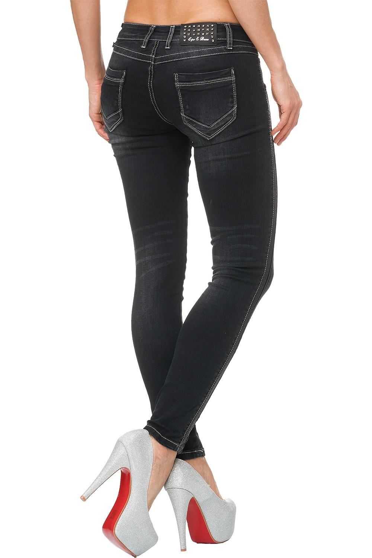Verschiedene-Cipo-amp-Baxx-Damen-Jeans-Hosen-Slim-Fit-Regular-Fit-Streetwear Indexbild 73