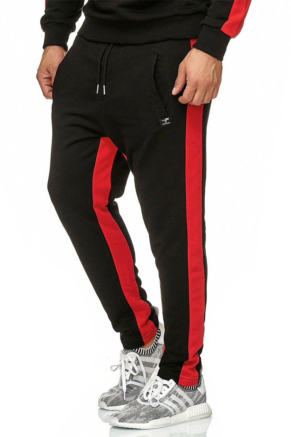 Redbridge-senores-regular-fit-chandal-fitness-sueter-aerobic-pantalones miniatura 13
