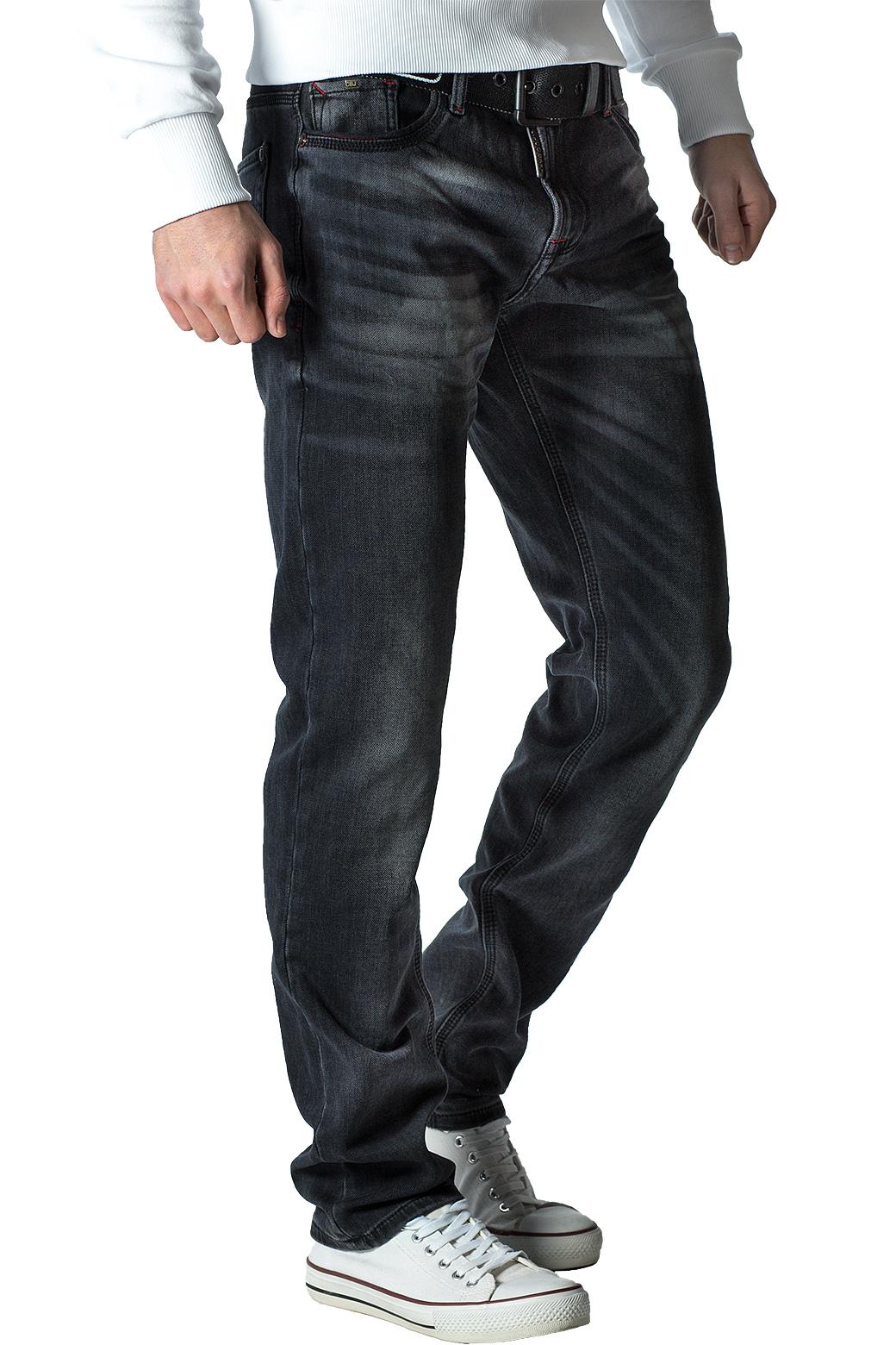 Cipo-amp-Baxx-Uomo-Jeans-Pantaloni-ricamate-Biker-Style-streetwear-nervature-pattern-Dope miniatura 26
