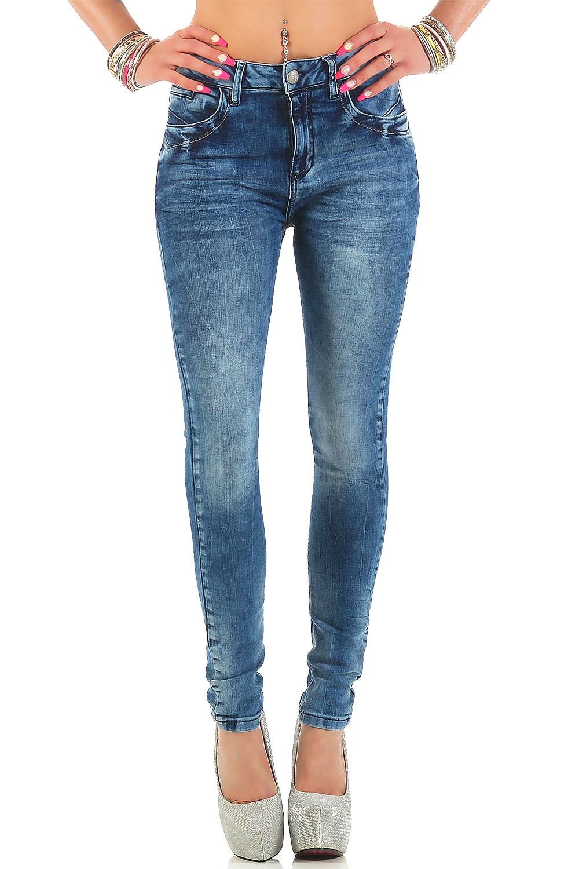 Verschiedene-Cipo-amp-Baxx-Damen-Jeans-Hosen-Slim-Fit-Regular-Fit-Streetwear Indexbild 47