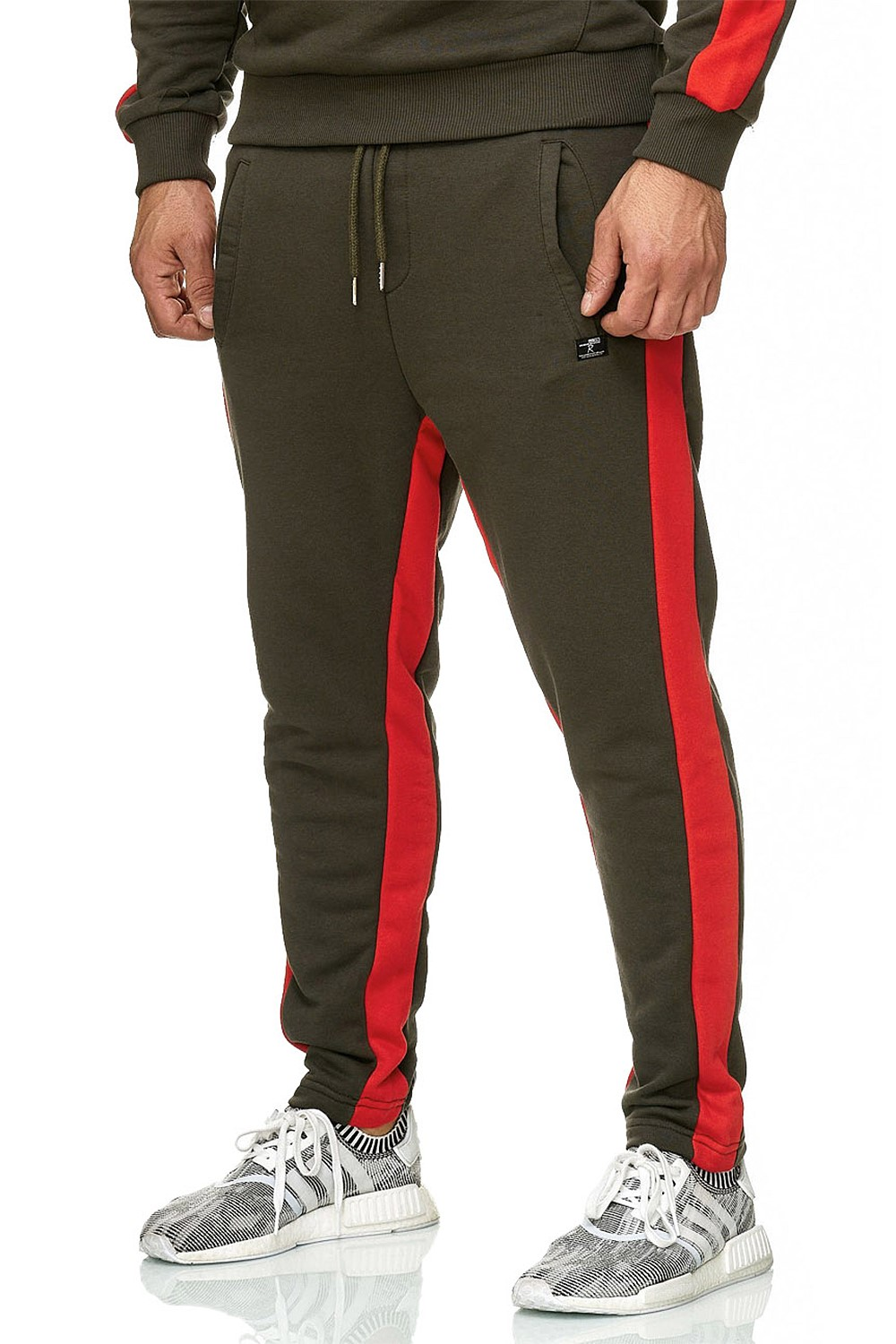 Redbridge-senores-regular-fit-chandal-fitness-sueter-aerobic-pantalones miniatura 9