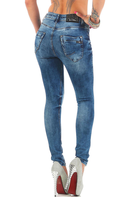 Verschiedene-Cipo-amp-Baxx-Damen-Jeans-Hosen-Slim-Fit-Regular-Fit-Streetwear Indexbild 49