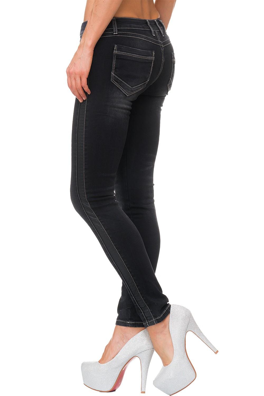 Verschiedene-Cipo-amp-Baxx-Damen-Jeans-Hosen-Slim-Fit-Regular-Fit-Streetwear Indexbild 74