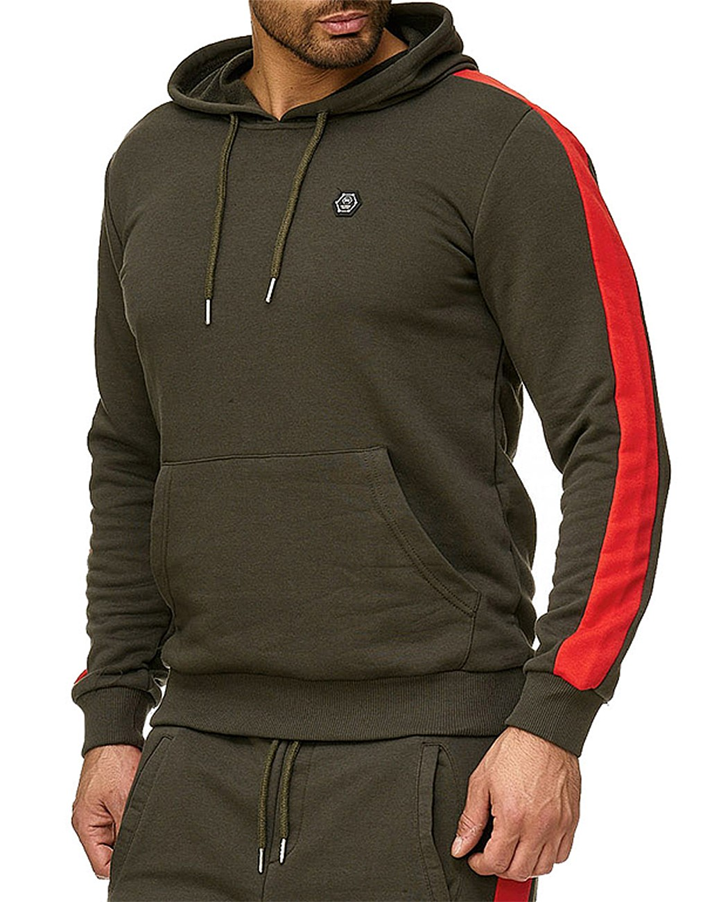 Redbridge-senores-regular-fit-chandal-fitness-sueter-aerobic-pantalones miniatura 28