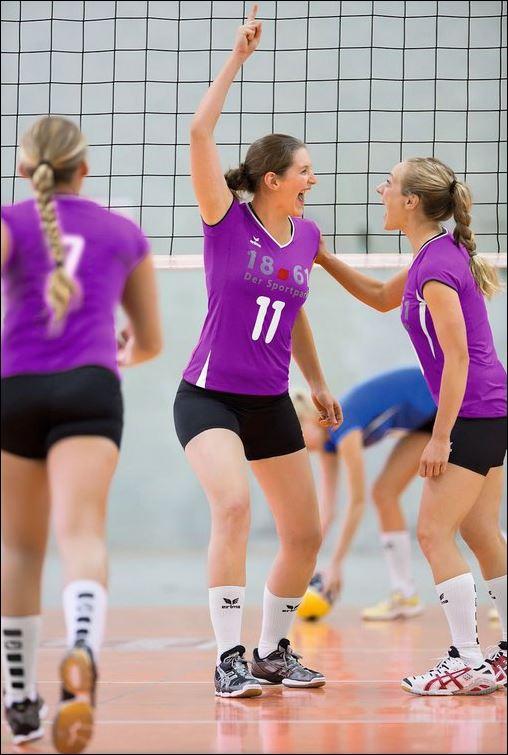Erima Damen Volleyball Hose Verona Tight