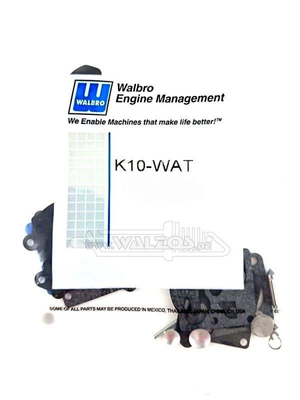 Original Walbro K10 WA WT Vergaser Reparatursatz Membransatz Membrane Dichtung
