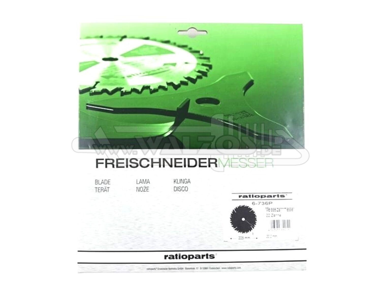Messer f Freischneider Meißelzahnmesser ZB 20,0 mm 200 mm Stärke 1,5